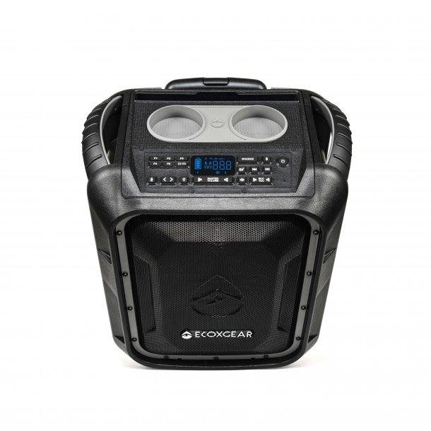 ECOXGEAR Højttaler EcoBoulder+ 100W IP67 Trådløs Mørkegrå